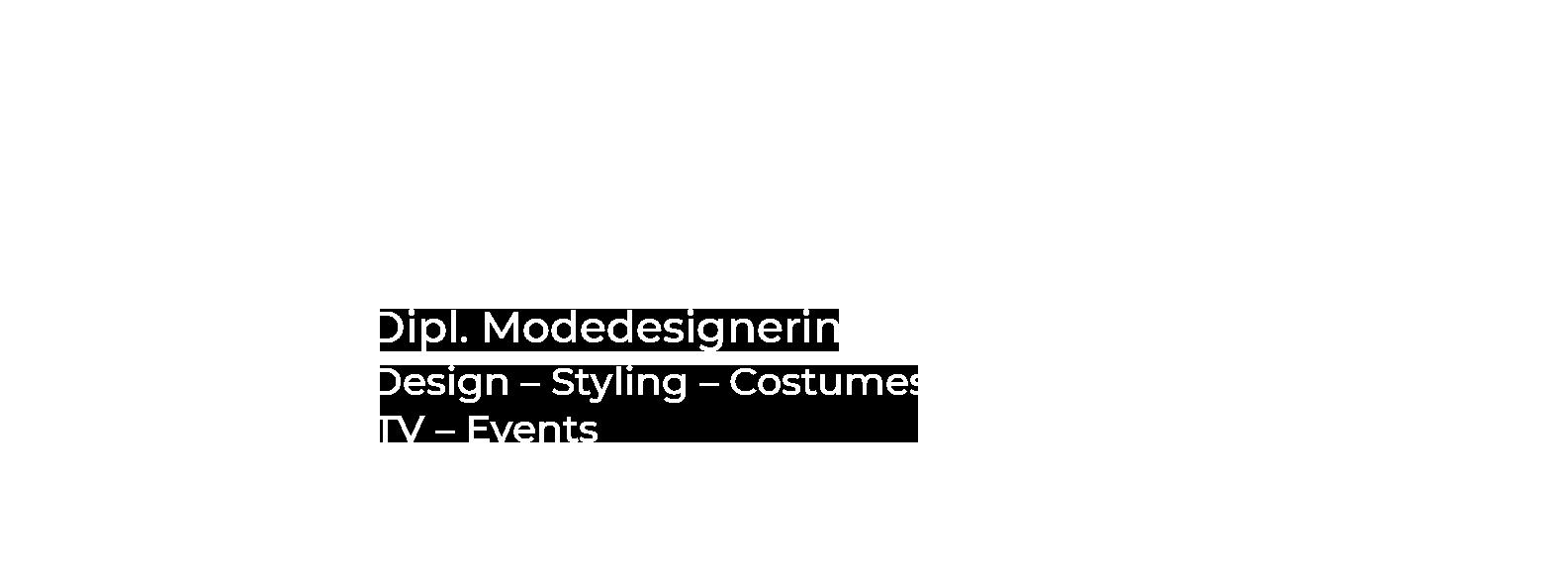 Ulrike Harrassowitz – Dipl. Modedesignerin